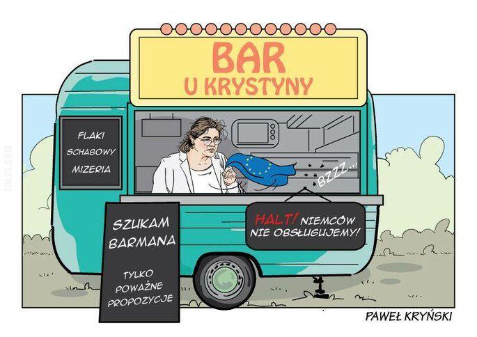 satyra : Bar u Krystyny