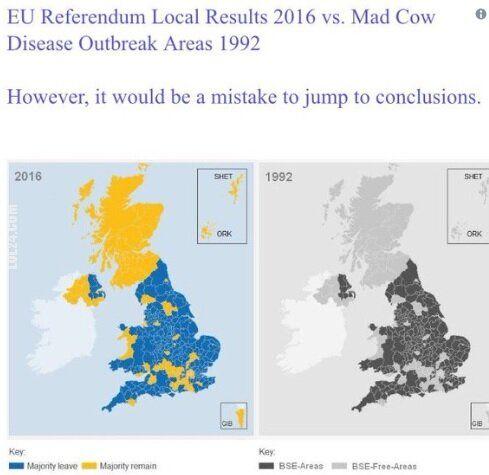 polityczna : Brexit a choroba szalonych krów