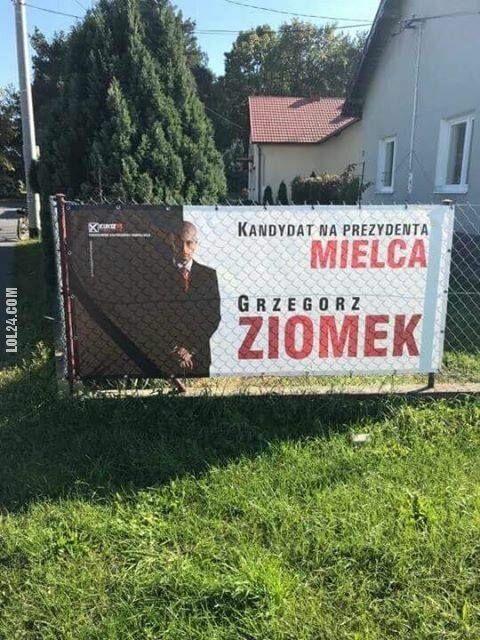 napis, reklama : Grzegorz Ziomek