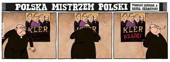 satyra : Kler rządzi