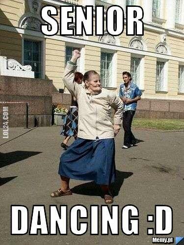 mem : Senior dancing