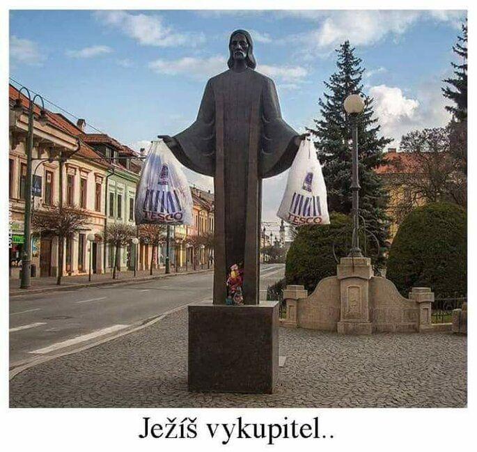satyra : Jezus Odkupiciel