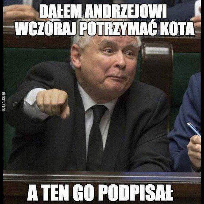 mem : Ach ten Andrzej