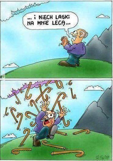 rysunkowa : Uważaj, o czym marzysz, bo jeszcze się spełni... ;)