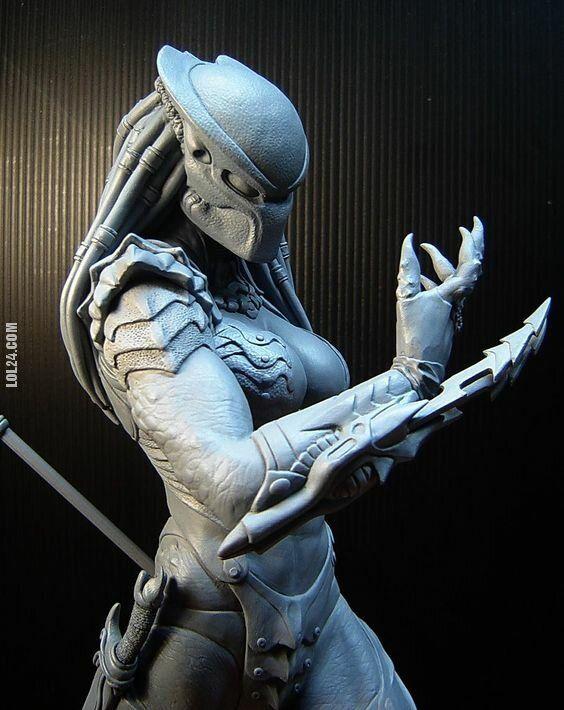 rzeźba, figurka : Moja przyszła żona w moim drugim wcieleniu !