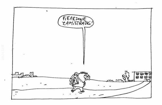 komiks : Łamistrajki