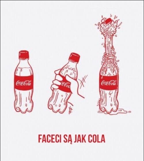 mem : Faceci są jak CocaCola