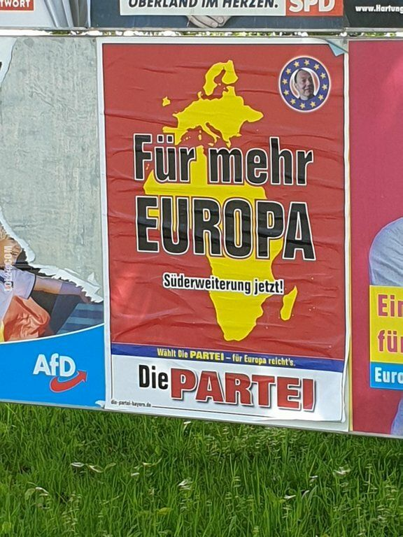 polityczna : Więcej Europy. Rozszerzenie na południe teraz!