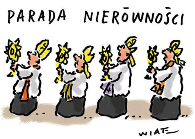 satyra : Parada nierówności