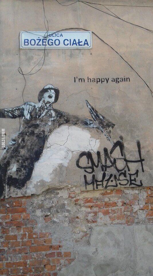 napis, reklama : Spacer po Krakowskim Kazimierzu