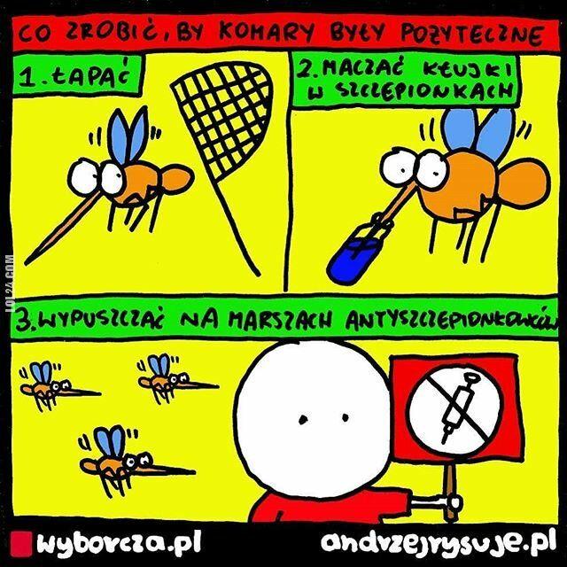 satyra : Co zrobić, by komary były pożyteczne