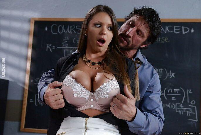 seksowna : Nagabywana nauczycielka 3