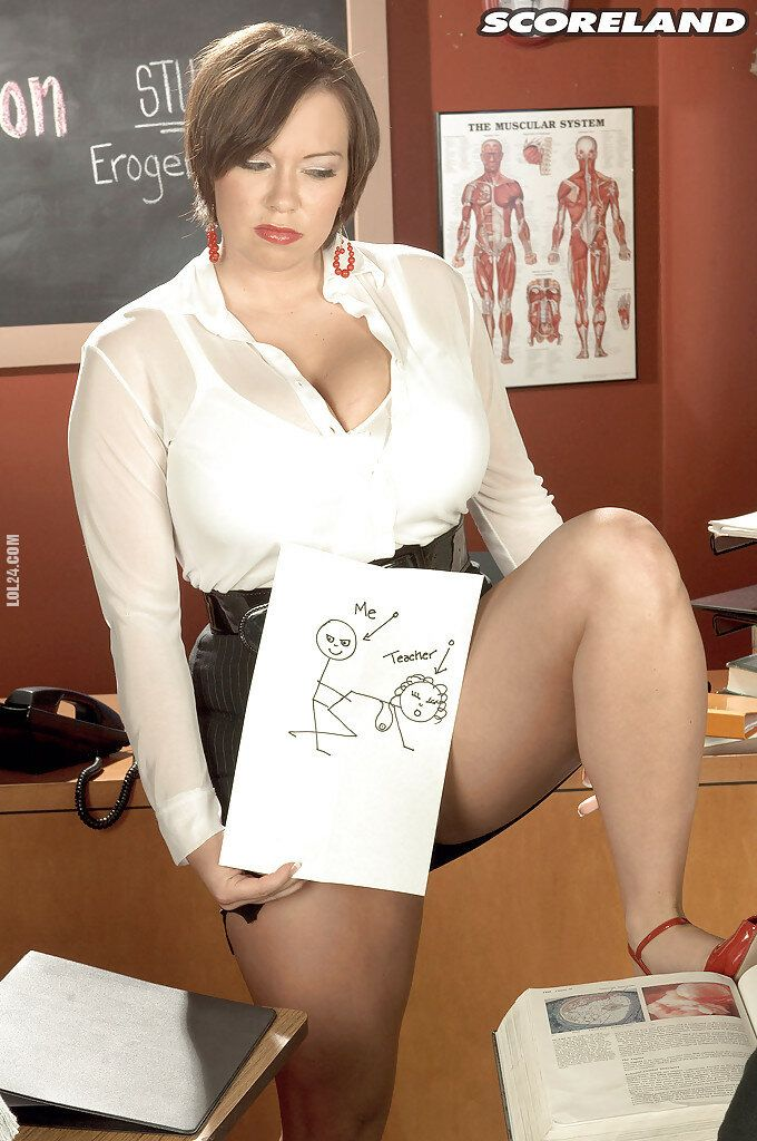 seksowna : Skonfundowana nauczycielka 1
