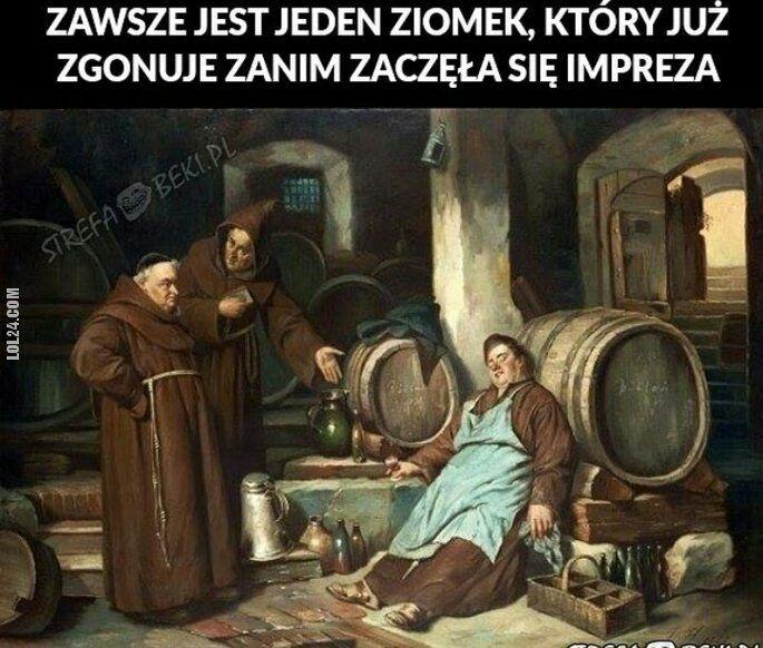 mem : Zgon na imprezie