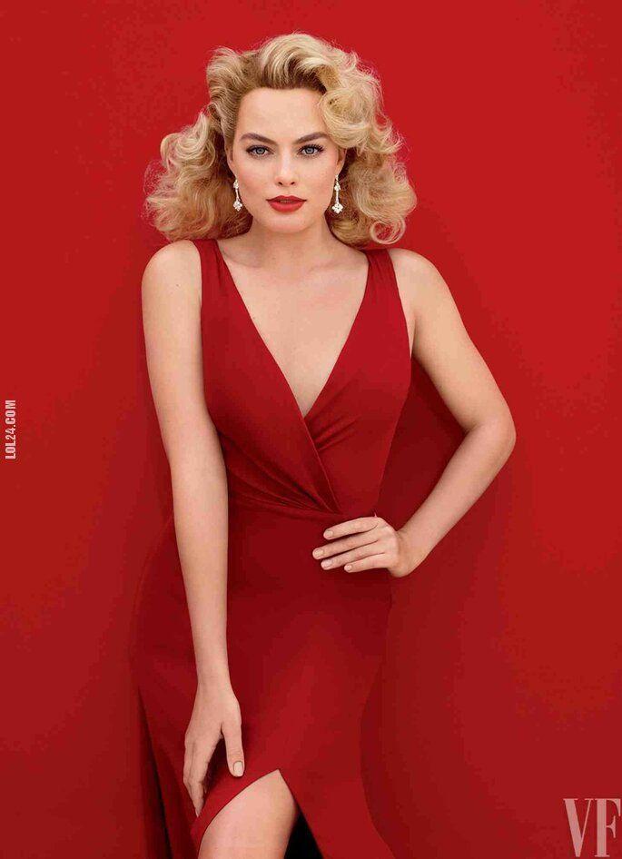 kobieta : Margot Robbie dla VF