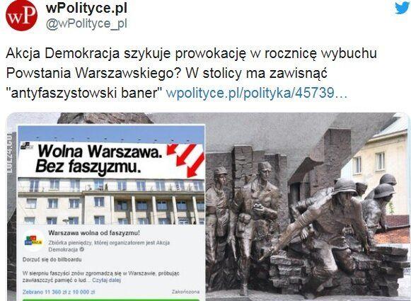 polityczna : Prowokacja?