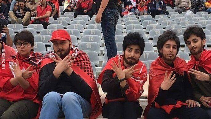 sport : Irańskie kobiety przebrały się za mężczyzn aby mogły wejść na stadion i obejrzeć mecz