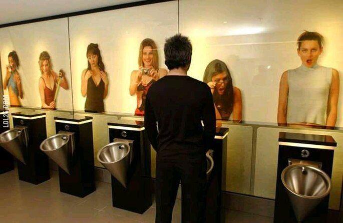mężczyzna : Toaleta męska