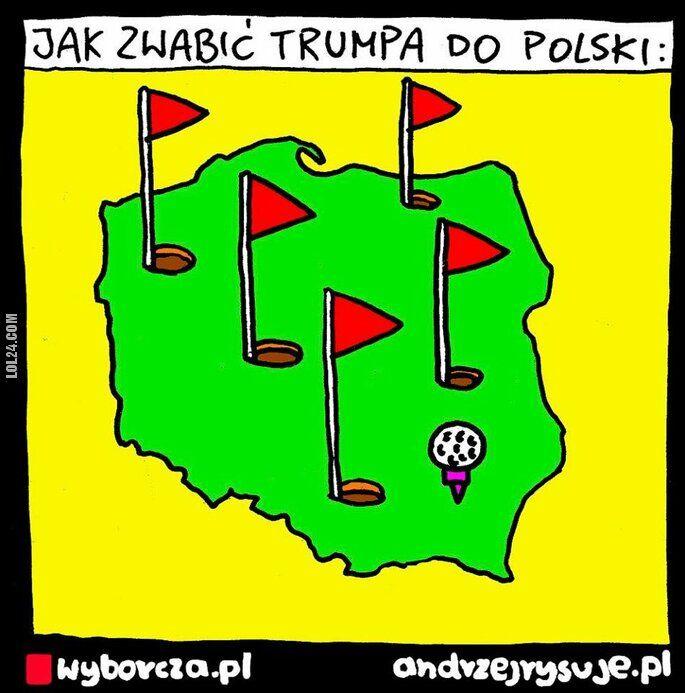 satyra : Jak zwabić Trump do polski
