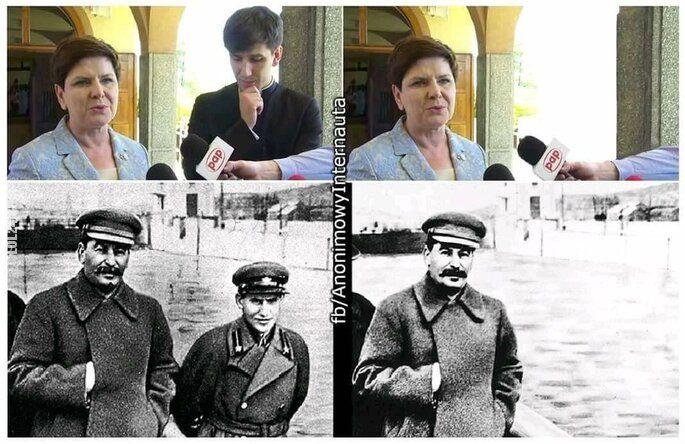 polityczna : Nie plotkować!