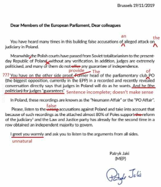 polityczna : Darmowa lekcja angielskiego