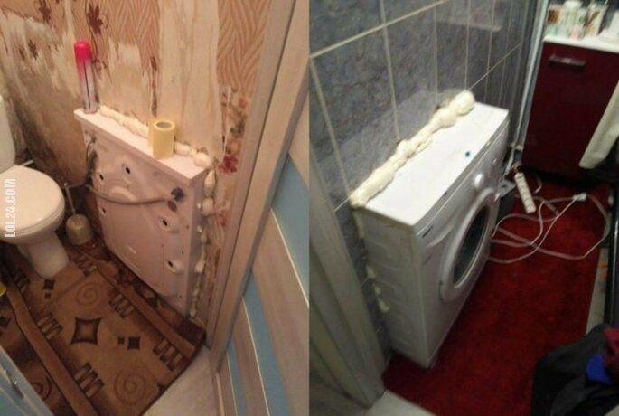 technologia : Kiedy nie masz miejsca na pralkę