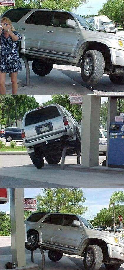 wpadka : Zaparkowany