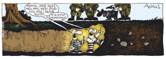 komiks : Niespodzianka...