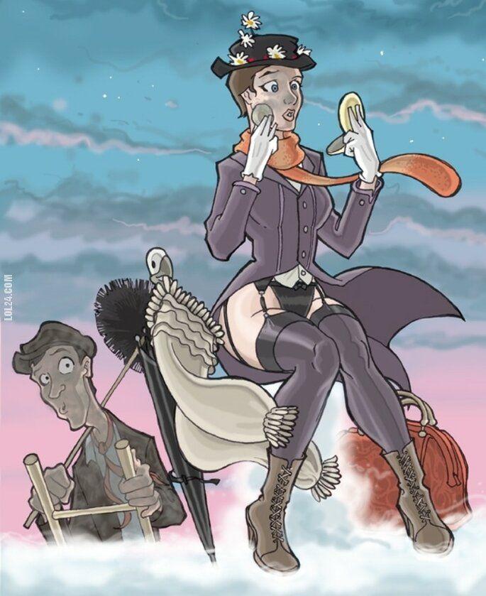 erotyka : Mary Poppins