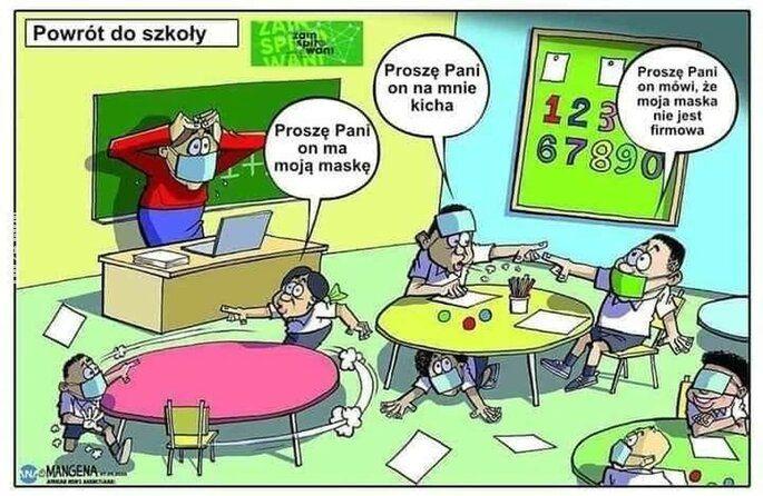 satyra : Powrót do szkoły