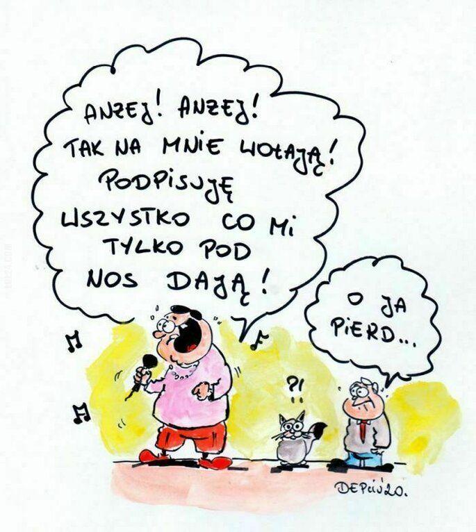 satyra : Andzej! Andrzej!