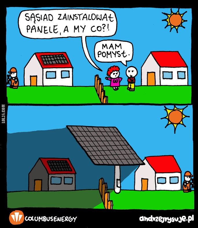 satyra : Typowy sąsiad