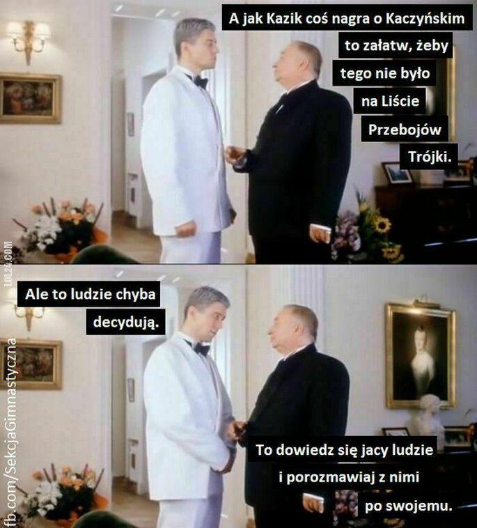 komiks : Trójka unieważniła notowanie listy przebojów, które wygrała piosenka Kazika krytykująca Kaczyńskiego