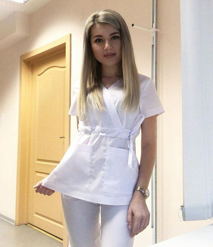 kobieta : Piękna pielęgniarka