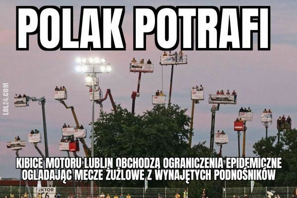 LOL : Polscy kibice potrafią obejść ograniczenia