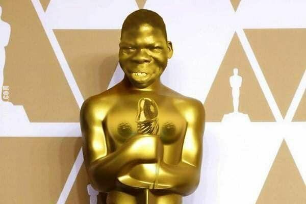 rzeźba, figurka : Nowa statuetka Oskara