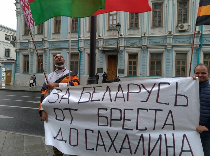 polityka : Marzenie rosyjskiego nacjonalisty: Białoruś od Brześcia do Sachalina