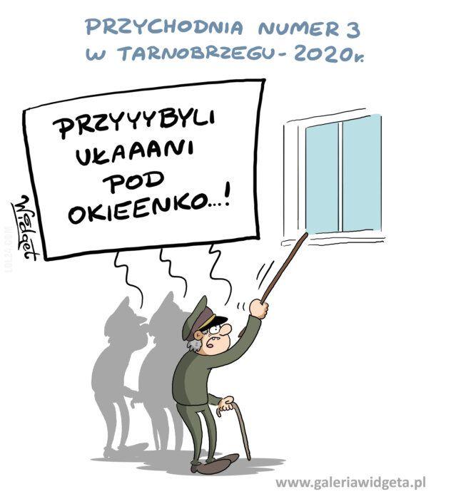 rysunek : Przychodnia w Tarnobrzegu
