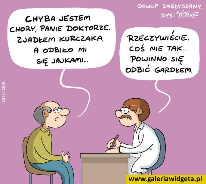 satyra : U lekarza..