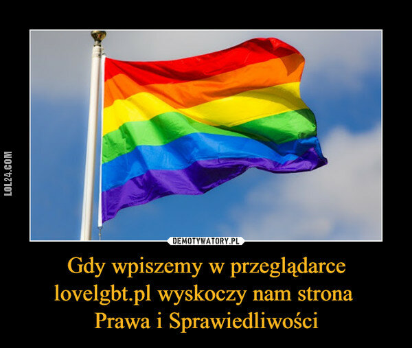 demotywator : loveLGBT.pl