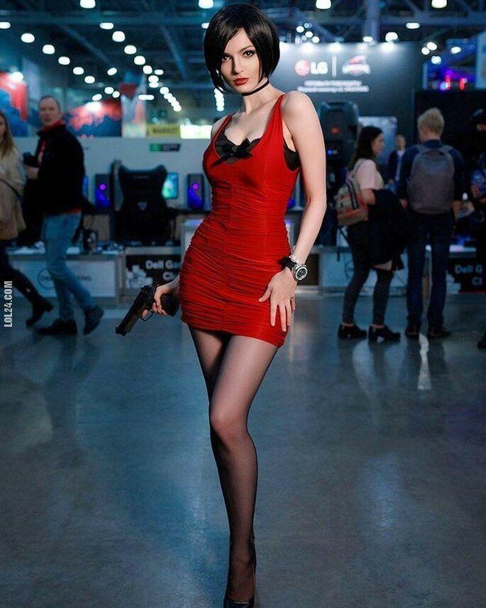 urocza, słodka : Cosplay girl #4 Ada Wong