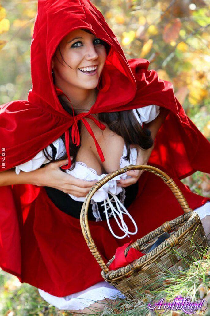 kobieta : Czerwony kapturek 107