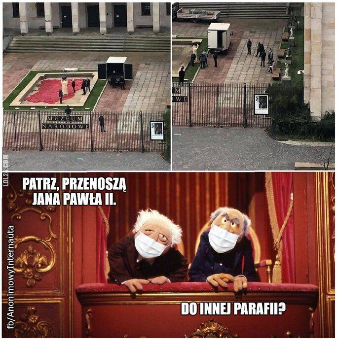 inne : Gdzie przeniesiono Jana Pawła II