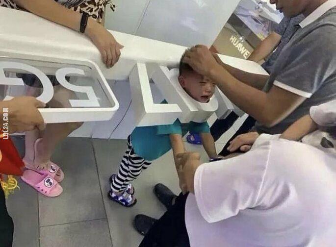 wpadka : Pierwsze dziecko ofiarą 5G