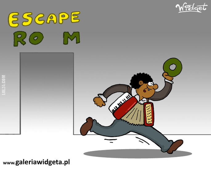 rysunek : Escape room