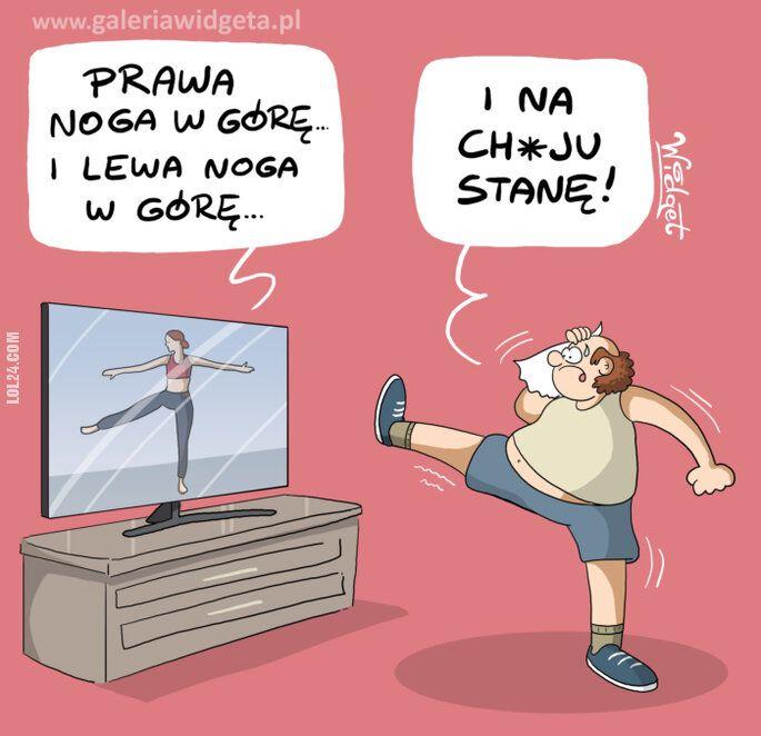 rysunek : Gimnastyka