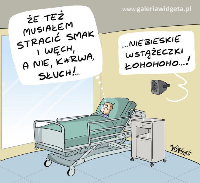 rysunek : W szpitalu