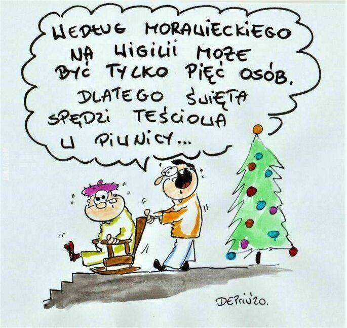 satyra : Święta w pięć osób