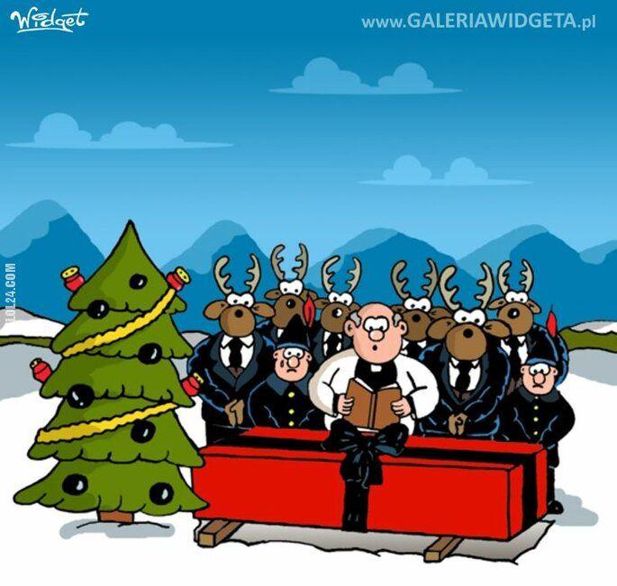 rysunek : Pogrzeb Mikołaja