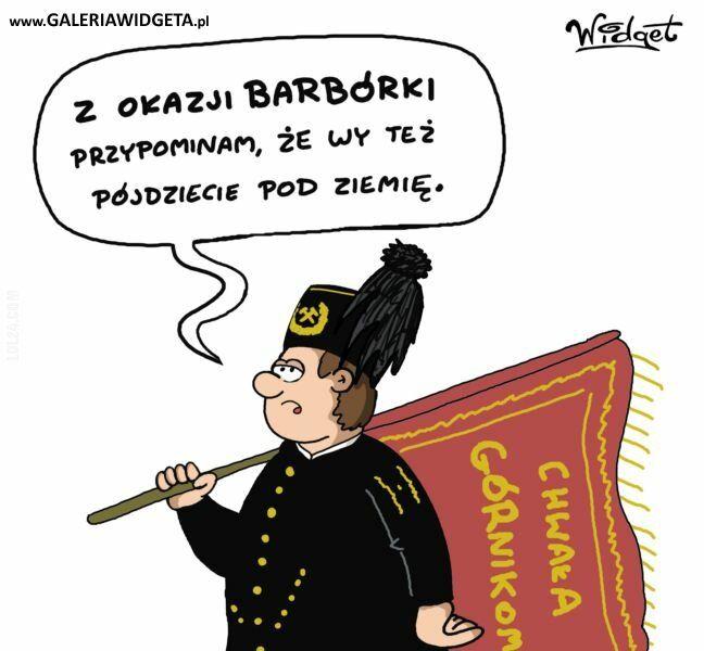 rysunek : Barbórka